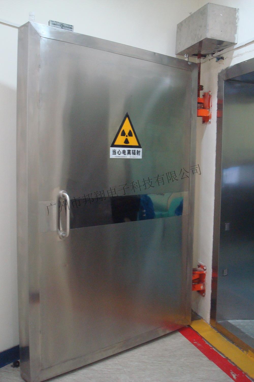 中子射线防护门平开式